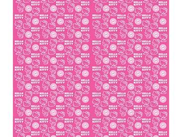 AG Design fcsxl 4348Hello Kitty, Chambre denfant Voilage/Rideau, 2pièces Plastique Multicolore 180x 160cm