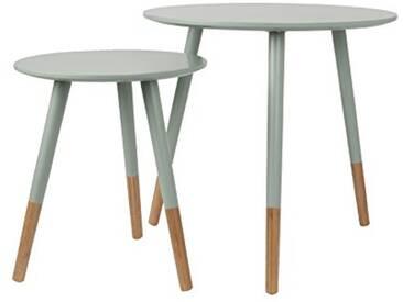 Leitmotiv LM1272 Table Basse MDF, Vert, Taille M