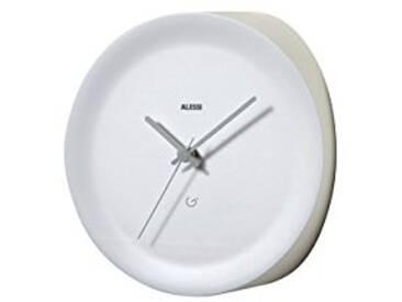 Alessi Ora in Horloge dangle dessinée par Giulio Iacchetti 21x21x13 cm Bianco