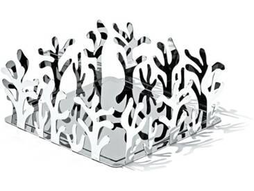 Alessi Esi18 Mediterraneo Porte-serviettes en Papier de Table en Acier Inoxydable 18/10 Brillant