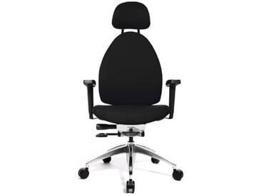 Topstar Open Art 20 Chaise de bureau pivotante Garnissage souple et confortable Black(4)