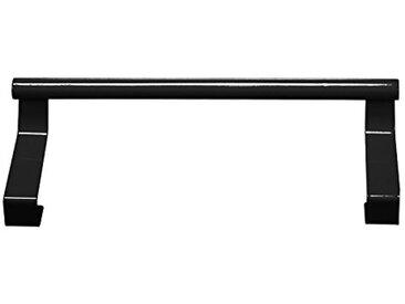 Je Cherche une Idée KB5462N/SP Patère Placard Métal Noir 23 x 7 x 4 cm