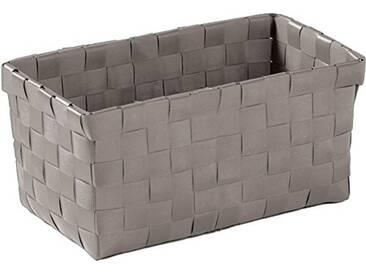 Kleine Wolke 5862977060 Brava Boîte Taille M Polypropylène Platine 21,5 x 9,5 x 11,5 cm