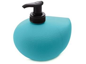 koziol distributeur de savon liquide 450 ml Grace sense, thermoplastique, turquoise, 10,5 x 12,7 x 11,7 cm