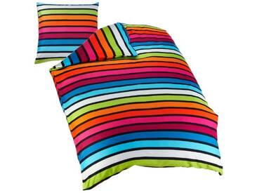 Kleine Wolke 6109148954 rimini parure de lit multicolore 155 x 220 cm-couleur: multicolore