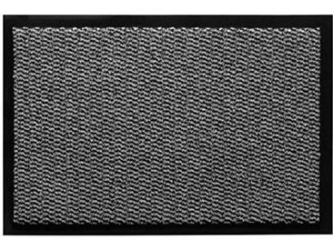 andiamo Schmutzfangmatte Fußabtreter Türmatte Easy Fußmatte, Polypropylène, Gris Clair, 60 x 80 cm