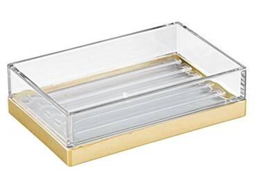 Interdesign 41089EU Design Clarity Porte-Savon pour Meuble Plastique Transparent 12,7 x 8,26 x 3,18 cm