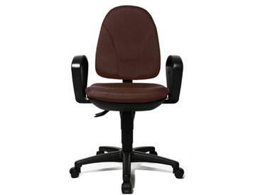 Topstar PO30B2G08 Point 30 Chaise de Bureau Chocolat 45 x 47 x 103 cm