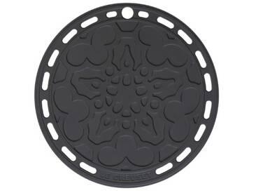 Le Creuset Dessous de plat silicone, noir