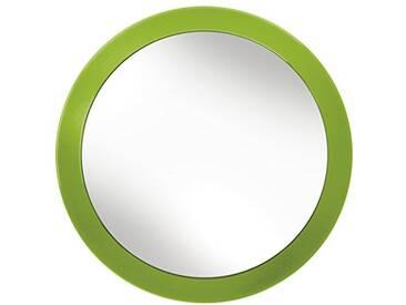 Kleine Wolke 5098645886 Easy Miroir de Maquillage Polystyrène/Verre Vert 40 x 30 x 10 cm