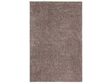 andiamo 700607 Paillasson Samson uni 50 x 80cm en Coton, Lavable à 30°C, Granite, 100 x 150 cm