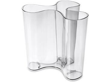 koziol vase Clara M, thermoplastique, transparent, 10,3 x 11,4 x 10,9 cm