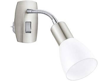 Eglo Darkar 3–lampe intérieure, E14, LED, chrome, blanc chaud, brossé)