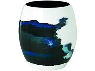 Stelton 450–20Stockholm Vase, diamètre 131, Petite, aluminium et émail, Aquatic, 16,5x 16,5x 19cm
