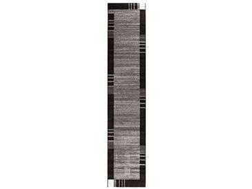 andiamo Frise grasse Web Tapis de Couloir, 100% polypropylène, Gris, 80 x 250 cm