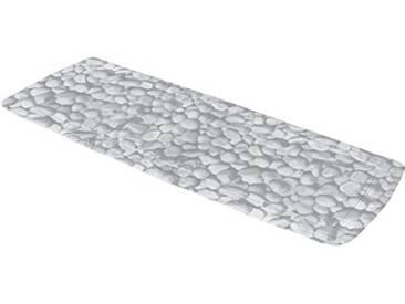 Kleine Wolke Tapis de Baignoire Stepstone 36x92 cm en Gris, PVC, 80 x 150 cm