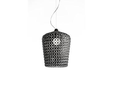 Kartell 0917509 Kabuki Lampe, Plastique/Tecnopolymère thermoplastique, Noir, Dia 50 x 73/272