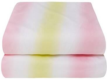 Designers Guild - Pavot Drap Housse Satin de Coton Cerise 90 x 190 cm