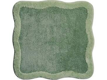 Grund Tapis de Bain 100% polyacrylique - Ultra Soft - Antidérapant - Aux Normes OekoTex, Tutti - Grün, 60 x 60 cm