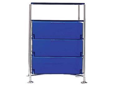 Kartell Mobil conteneur, Bleu