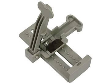 GARDINIA Coupeuse de lamelles, pour couper les lamelles dans le sens de la largeur, Plastique/Métal, Grey, 5 x 2 cm