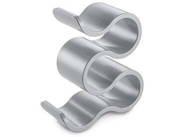 koziol etagère Boa, thermoplastique, gris, 11,1 x 23,6 x 28,6 cm