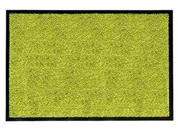 andiamo 700625Paillasson/Tapis de Porte, uni, Vert, 60 x 90 cm