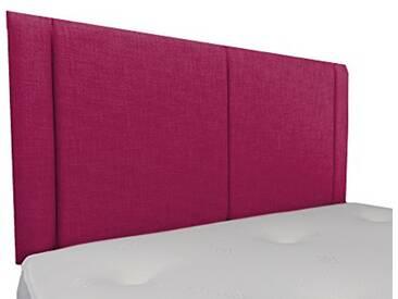 Interiors 2Combinaison U Robyn Parure de lit capitonnée, Tissu, Framboise, 7.5x 76x 62cm
