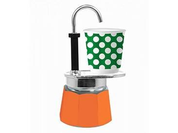 Bialetti 0005730 Tasse, Aluminium, Orange, 16 x 7,5 x 19 cm