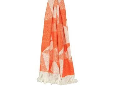 Paoletti Shard Couvre-lit, Orange, 127x 180cm