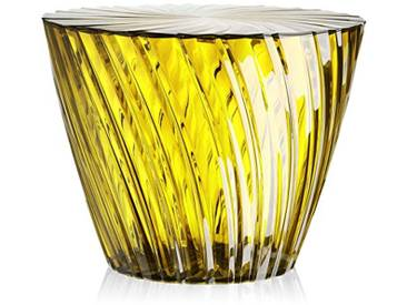 Kartell 8805MI table dappoint sparkle, jaune