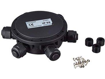 SLV Boîte de dérivation ronde, 6compartiments, IP55, 14mm Câble de diamètre 229260