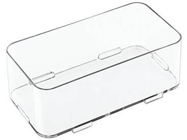 InterDesign 41410EU Clarity Interlocking Rangement de Tiroir pour Savon/Cosmétiques/Produits de Beauté Moyen