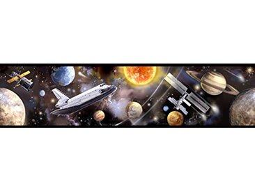 Jomoval Room Mates Frise murale Enfant Voyage dans l'espace