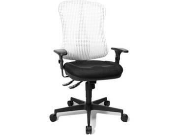 Topstar HE20PBC03 Head Point SY Chaise de Bureau Noir/Blanc 46 x 50 x 114 cm
