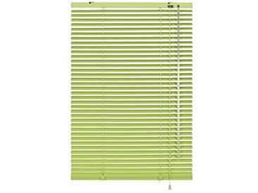 GARDINIA Store Vénitien en Aluminium, Fixation au Mur et au Plafond, Kit de Montage Inclus, Store Vénitien Aluminium, Vert-Citron, 60 x 175 cm (LxH)