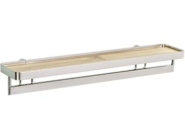 Wenko Porte épices avec Barre Premium, Métal, Argent, 12x41,5x8,2 cm