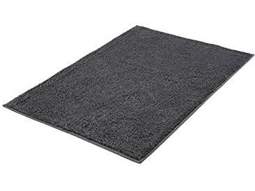 Kleine Wolke 4018905519 Kansas Tapis de Bain Coton Gris Ardoise 60 x 90 x 1,5 cm