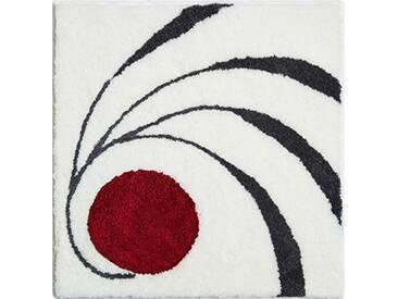 Grund Luigi Colani 18–4040Tapis de Bain, Polyacrylique, Blanc, 60 x 60 cm