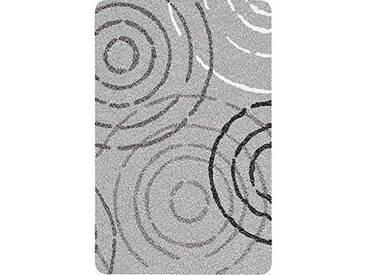 Kleine Wolke 5518913225 Splash Tapis de Bain Polyacrylique Gris/Blanc 70 x 120 cm