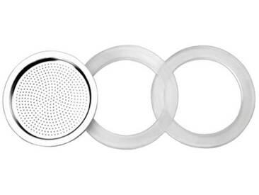Ibili 620351 Accessoires pour cafetière express Essential 4 Tasses - 2 Joints 100% silicone + 1 Filtre Essential