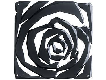 Koziol Romance – Séparateur de pièce/Ornement en Plastique, Plastique, Noir, 0.4x26.9x27 cm