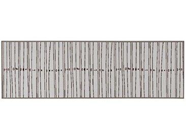 Viva Tappeti Tapis de Cuisine, synthétique, Gris, 57 x 200 x 1,14 cm