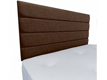 Interiors 2Combinaison U Leah Parure de lit capitonnée, Tissu, Marron, 8x 120x 62cm