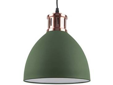 Leitmotiv LM1413 Lampe à Suspension, Fer, 40 W, Vert, Taille L