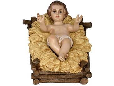 Moranduzzo Gesu Enfant, Verre, 100cm, Multicolore