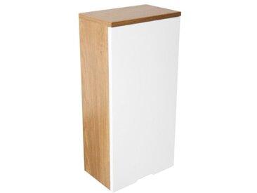 Premier Housewares 2403290 Armoire Murale avec 1 Porte Effet Chêne/Miroir