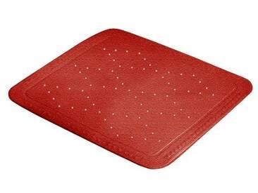 Kleine Wolke 0221425002 Arosa Tapis Anti Glisse Rouge 55 x 55 x 0,5 cm