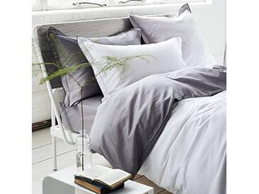 Designers Guild - Saraille Drap Housse Satin de Coton Zinc 180 x 200 cm
