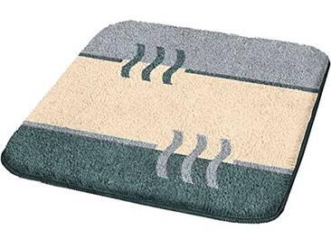 Kleine Wolke 4594977225 Fiesta Tapis de Bain Polyacrylique Platine 70 x 120 cm